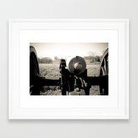 battlefield Framed Art Prints featuring Vicksburg Battlefield by Joy Colmerauer