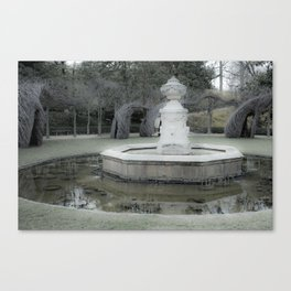 Font of Spring Canvas Print