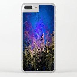 Mist's Edge Clear iPhone Case