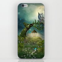 bebop iPhone & iPod Skins featuring Keeper of the Enchanted - Spring Thaw by soaring anchor designs