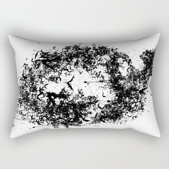 A Dark Cave Rectangular Pillow