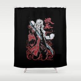 Jiraiya Sennin Modo Shower Curtain