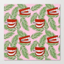 Palm Teeth Canvas Print