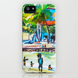 Cricket at Maracas iPhone Case