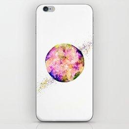 Flower planet iPhone Skin
