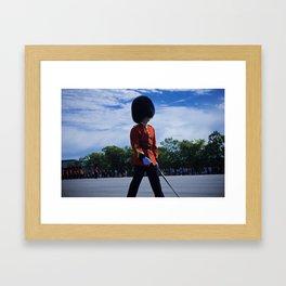 The Guard Framed Art Print