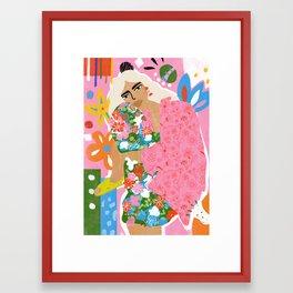 Living in Chaos Framed Art Print