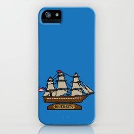 Anchor Pixel iPhone Case