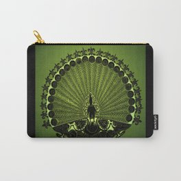 Royal Peacock Carry-All Pouch