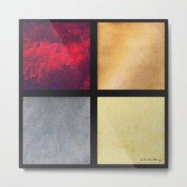 Four Squares 001 Metal Print