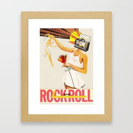 Sell Your Soul to Rock n' Roll Framed Art Print