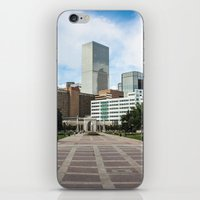 denver iPhone & iPod Skins featuring Denver by Holly