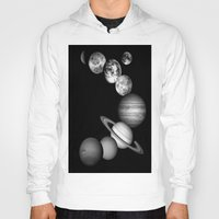 solar system Hoodies featuring the solar system by Space & Galaxy Dreams