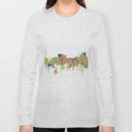 Chatanooga, Tennessee Skyline SG - Faded Glory Long Sleeve T-shirt