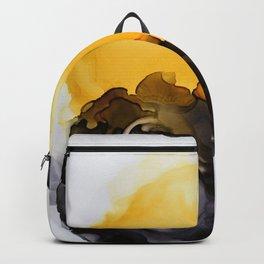 Black & Yellow Smoked Backpack