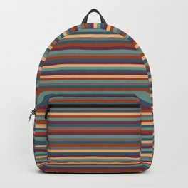 Stripes, Stripes, and More Stripes Backpack