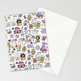 Alice in Doodleland Stationery Cards