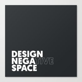 Design the Space Canvas Print