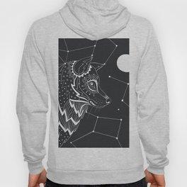 Wolf constellations Hoody
