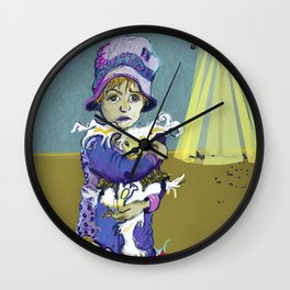 Betiolas 2 (Little Creature) Wall Clock
