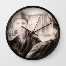 Alt er love Wall Clock