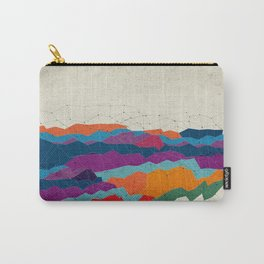 Landscape on Mars Carry-All Pouch