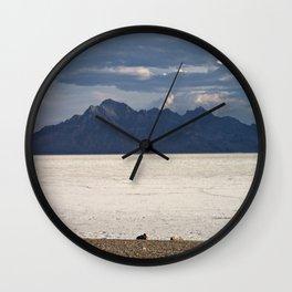 Salt Flat Wall Clock