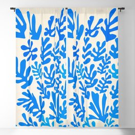 Collage of Leaves, #4- Oceania, by Henri Matisse Blackout Curtain