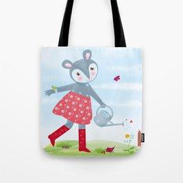 Little Mouse Fleurielle Tote Bag