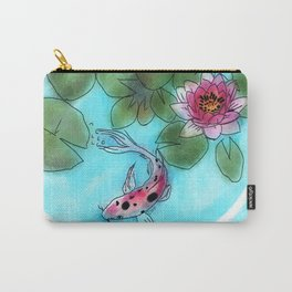 koi bubble #3 Carry-All Pouch