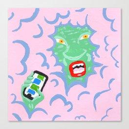 SMS/TXT - Text Message Demon Canvas Print