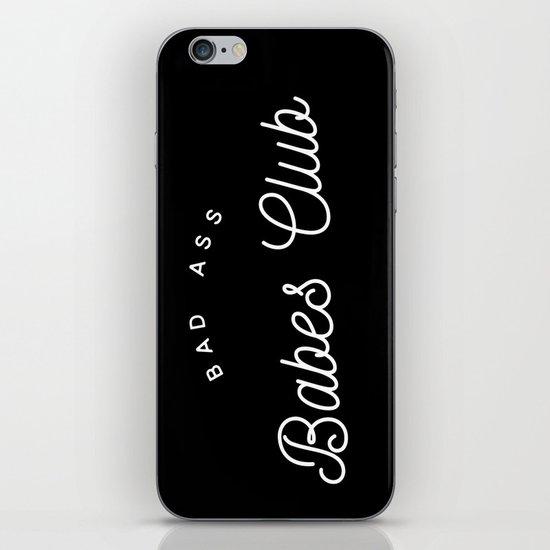 BAD ASS BABES CLUB B&W iPhone Skin