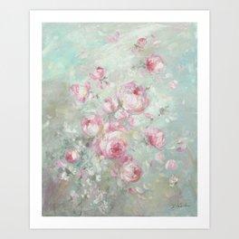 Whispering Petals Art Print