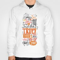 dr seuss Hoodies featuring TODAY YOU ARE YOU... - DR. SEUSS by Matthew Taylor Wilson