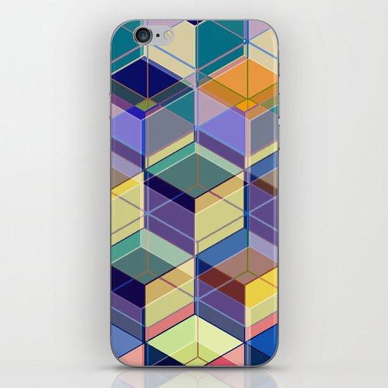 Cube Geometric VIII iPhone & iPod Skin