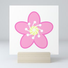 Pink Cherry Blossom Sakura Flower Mini Art Print