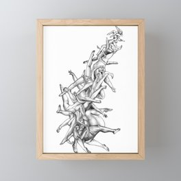Fifty-five Framed Mini Art Print