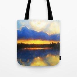 Big Cypress Sunrise Tote Bag