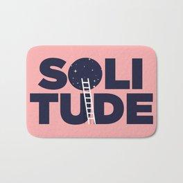 happy solitude Bath Mat
