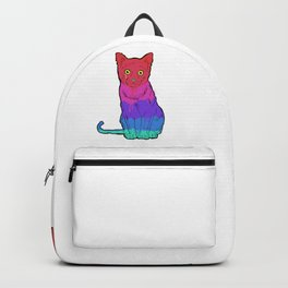 Graffiti Cat Backpack