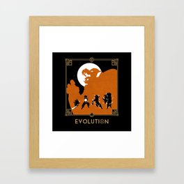 Dragon Ball - Goku Evolution Framed Art Print