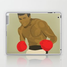 Cool image of a boxer Laptop & iPad Skin