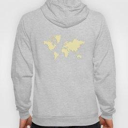 World with no Borders - yellow Hoody