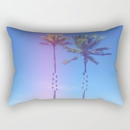 Fragmented Palm Rectangular Pillow