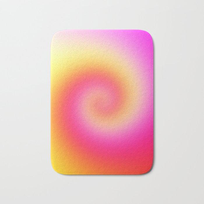 Spiral Of Color Bath Mat