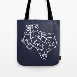 Texas Strong (Dark Blue) Tote Bag