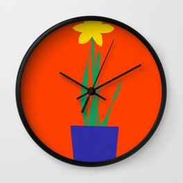 Narcissus Wall Clock