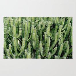 Green Cactus Cacti Plant Rug