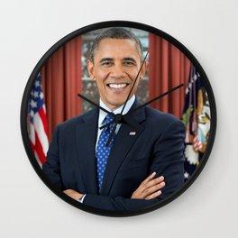 THANKS OBAMA / FUCK TRUMP Wall Clock