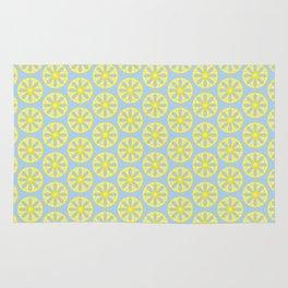 Fresh Squeezed Lemonade Seamless Pattern Rug